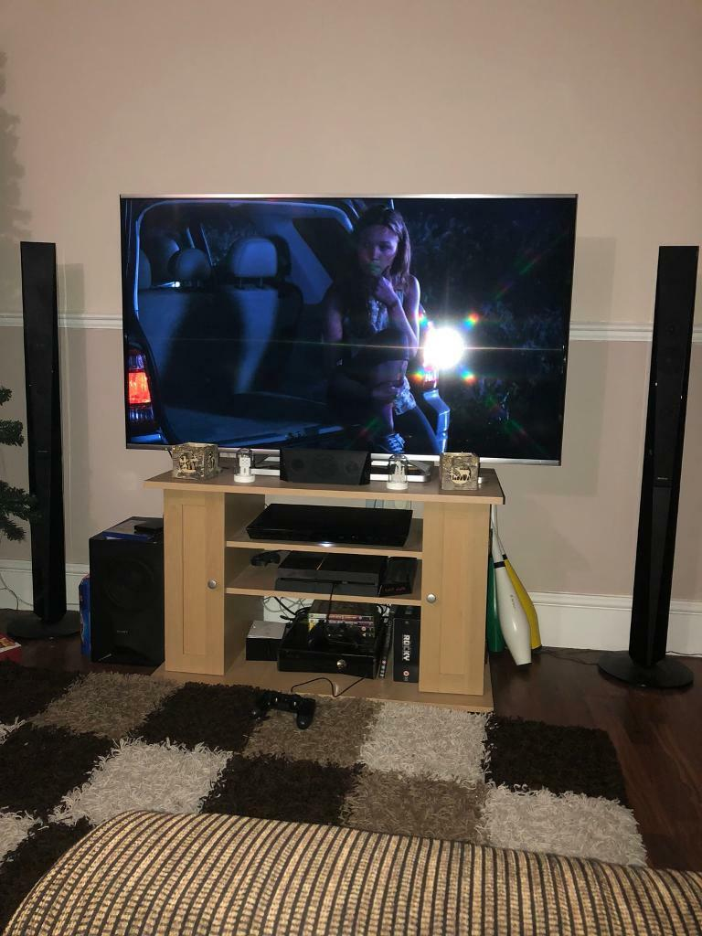 Sony Blu Ray 3d Home Cinema System As New Tallboy Speakers In  # Meuble Tv Sony Home Cinema