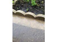 Garden Paving Circular Feature & 58 Edgings