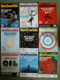 Free: 46 copies of New Scientist (2005, 2007)