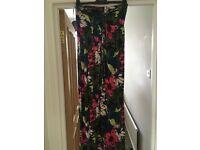 NEXT size 10 maxi dress