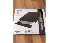Samsung External DVD/CD Writer and Reader. Excellent new condition