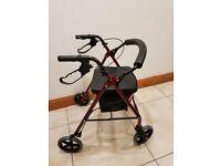 4 Wheeled Disability Walker
