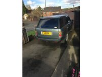 Range Rover tdv6 private plate may swap