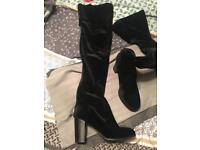 Thigh high boots size 4