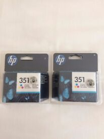 Two brand new Tri-Colour printer ink catridges