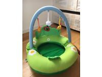 Portable Inflatable Activity Baby Play Ring - several activities