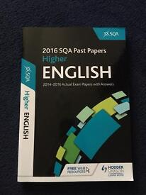 2016 SQA Past Papers