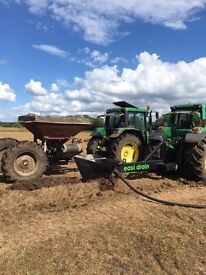 Plough Mole Drainer installs stones and pipe EASI DRAIN
