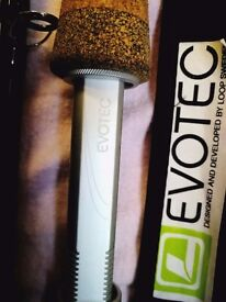 LOOP evotec fly fishing rod 10 foot 8 weight stunning