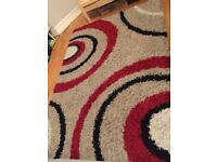 230 x 160 Large red & beige rug