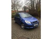 Chevrolet Aveo 2009! Low genuine mileage! Lady owner with extras in car!!