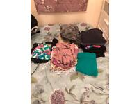 Mixed lot of clothes
