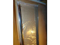 BRAND NEW SHOWER SIDE PANEL 800 MM (4MM TOUGHENED GLASS)