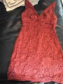 Lace dress Topshop. Size UK4.