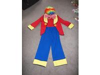 Clown outfit - size 150 cm