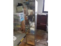 Superb Metal and Glass Bathroom Cabinet for Sale