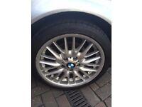 BMW Wheels Genuine MV1 Alloys.