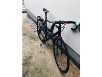 Canyon Ultimate AL SLX Black and Green awesome bike in Large LOTS of extra