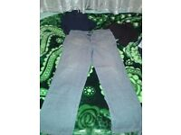 Light blue Armani jeans