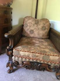 Bergere suite, or chairs only