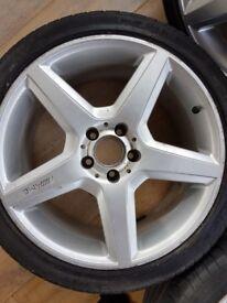 Mercedes 18'' alloy wheels