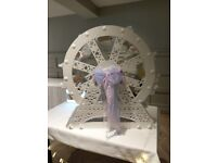 Sweet candy carousel, ferris wheel, candy cart alternative for wedding, birthday event or party