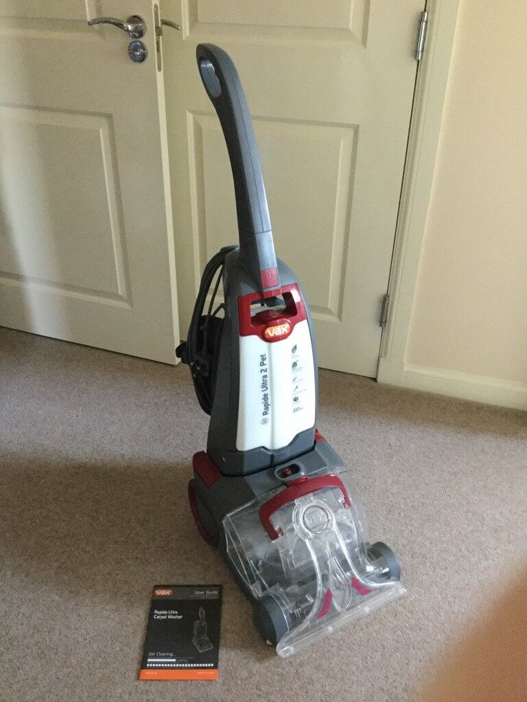 Instruction Manual For Vax Rapide Carpet Cleaner Carpet