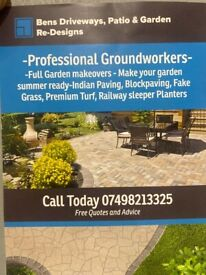 Bens Paving and landscaping service