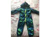 Dinosaur Puddle suit 18-24 months