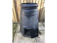 Green 330 Litre Compost Bin