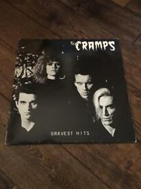 The Cramps Gravest Hits original rare vinyl record 12""