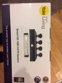 yale cctv home system set b&q 300£ band new UNOPENED asking £190 dropped off £180 picku