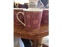 New Next Mugs x 4