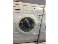 nice White bosch washing machine 6kg 1400 spin in excellent condition in full working order