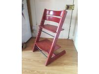 Tripp Trapp chair - great Scandi children's chair £70