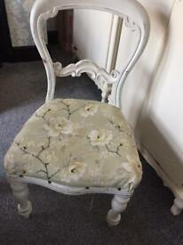 Shabby Chic Chair Upcycle Project