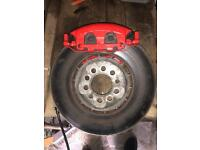 VW Golf MK4 Golf R32 Brakes Front and Back