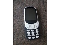 nokia 3310 duel sim unlocked to all networks cheap mobile phone