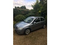 Vauxhall Corsa, 1.2L Manual Petrol Twinport Sxi, Metallic blue/Sliver 2005 Full MOT till April 2019