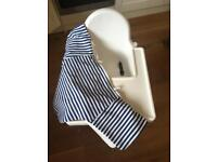 IKEA high chair with inflatable cushion