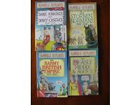 ***Children's books – 8 x Horrible Histories by Terry Deary – 8 to 12 years old***