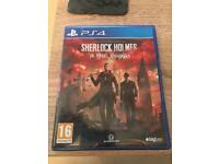 Sherlock Holmes the devils daughter PS4 game