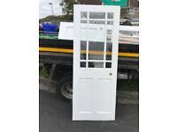 Glazed interior doors, good condition x 2