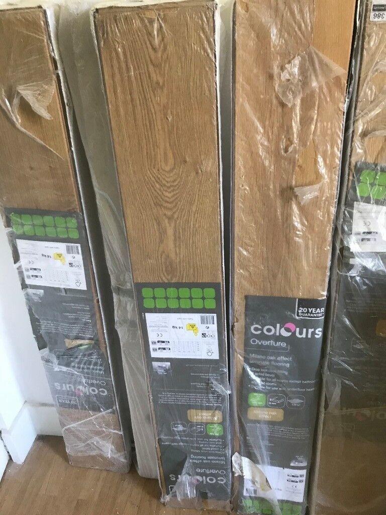 Unused Laminate Flooring For