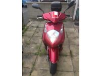 Honda 125cc 9k on clock runs sweet...offers????
