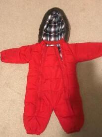 John Lewis snowsuit 9-12 months £6