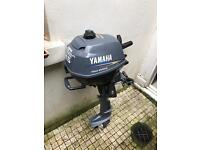 2.5 hp Yamaha outboard four-stroke short shaft