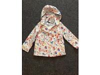 Girls summer coat 4-5years brand new