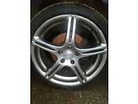 Hyundai Alloy wheels x4 225 40 18