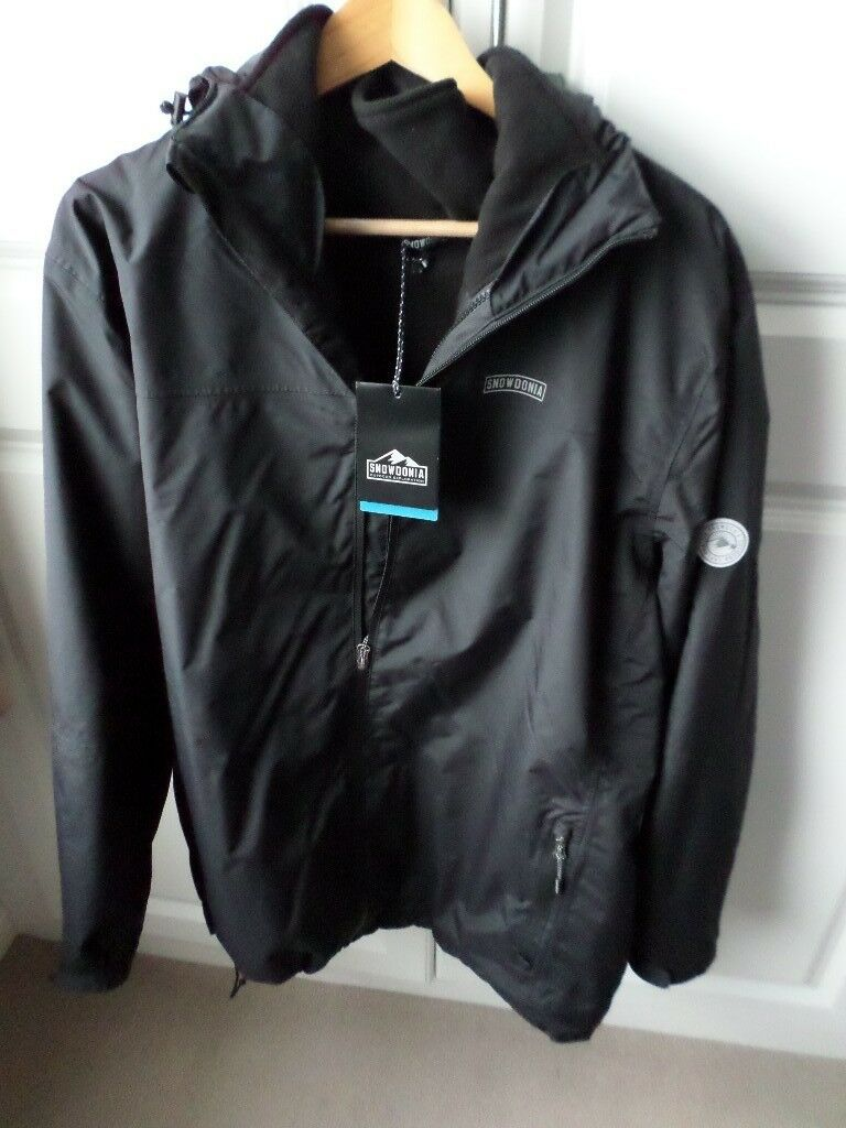 "Mens Snowdonia 3 in 1 Coat, size 48""/50""Chest, BRAND NEW"